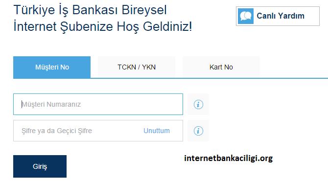 iş bankası internet bankacılığı